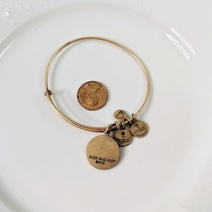 Alex and Ani Jewelry - Alex and Ani Gold Luck Four Leaf Clover Bracelet